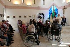 Die Fatima-Pilgermadonna im Marienstift in Straubing